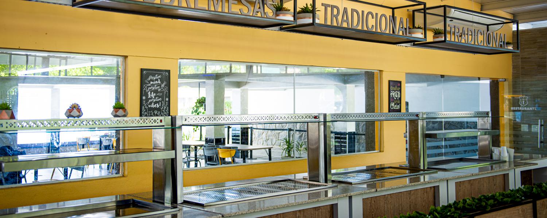 Restaurante terraço - colegio damas - basis arquitetura